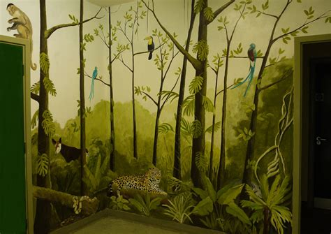 animal wall murals jungle mural jess arthur mural artist