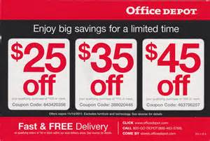 Office Depot Coupons Office Depot Coupons Discount Offers