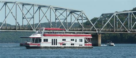 table rock lake houseboat rentals and vacation information