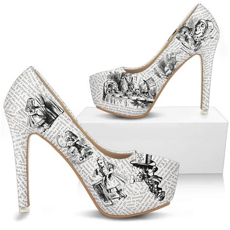decoupage high heels in decoupage bookish high heels literary