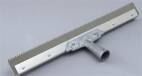 """Notched Squeegee 1/8"""" or 3/16"""" Notch Size   ArmorPoxy"""