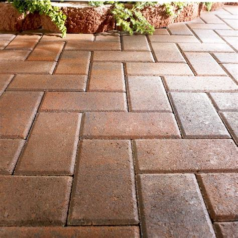 Lowes Pavers For Patio Wall Blocks Pavers And Edging Stones Guide