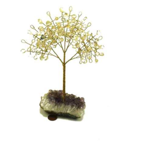 gem tree amethyst and other gemstones