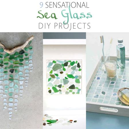 sensational diy sea glass projects  cottage market