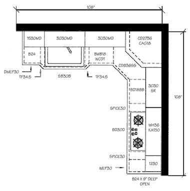 kitchen design floor plans building ideas part 9