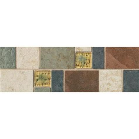 daltile continental slate 4 in x 12 in x 6 mm porcelain