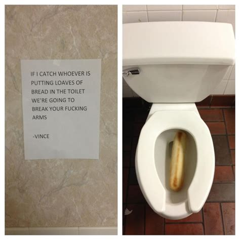 Bathroom Staff Names The 26 Funniest Responses To Passive Aggressive Notes