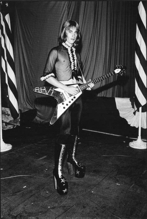 men  heels vintage   male rock stars wearing