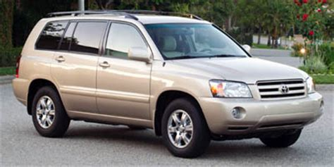 2005 toyota highlander review, ratings, specs, prices, and