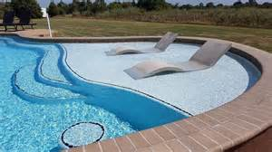 Sun Tanning Chair Design Ideas 2017 Pool Design Trends Blue Pools Okc