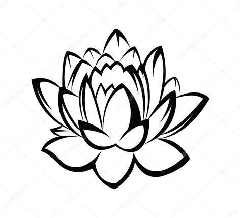 lotus flower stock vector 169 redrockerz99 41321379