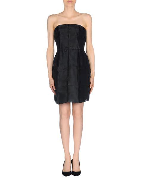 Fendi Dress lyst fendi dress in black