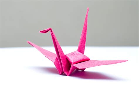 A Paper Crane - how to fold a paper crane with pictures wikihow
