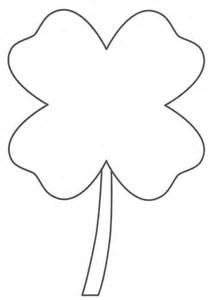 4 leaf clover coloring page amp coloring book