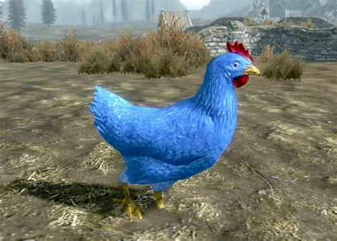 me and you and a named blue blue chicken at skyrim nexus mods and community