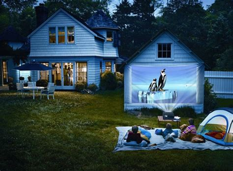 The Backyard At The W by 15 Wonderful Home Theater Design
