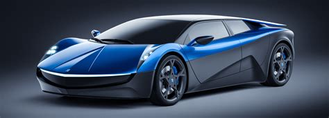 Tesla Electric Car Made The Elextra Is A Swiss Designed Electric Supercar Built To