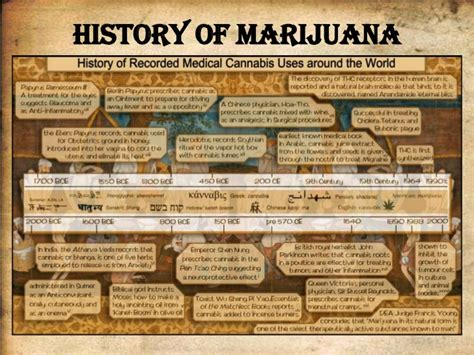Records Of History Of Marijuana