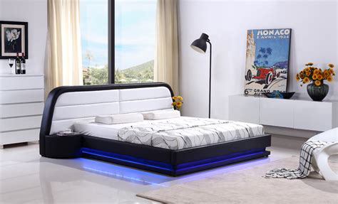 aliexpress com buy led remote control contemporary popular leather king bed buy cheap leather king bed lots