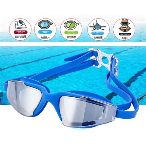 Kacamata Renang Anti Fog Uv Protection kacamata renang anti fog uv protection rh5310 blue
