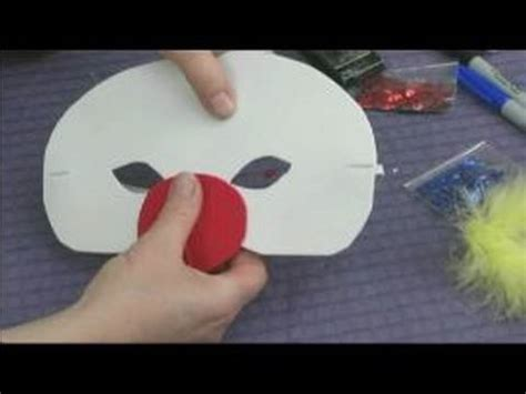 How To Make A Nose Out Of Paper - foam masks for kid s crafts a nose for a