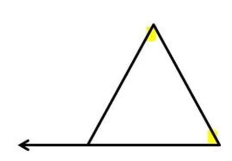 Remote Interior Angles Definition by Interior Angle Measure Of A Triangle
