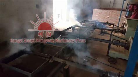 Gergaji Mesin China pabrik dijual bbq arang sekam padi biomassa kayu serbuk