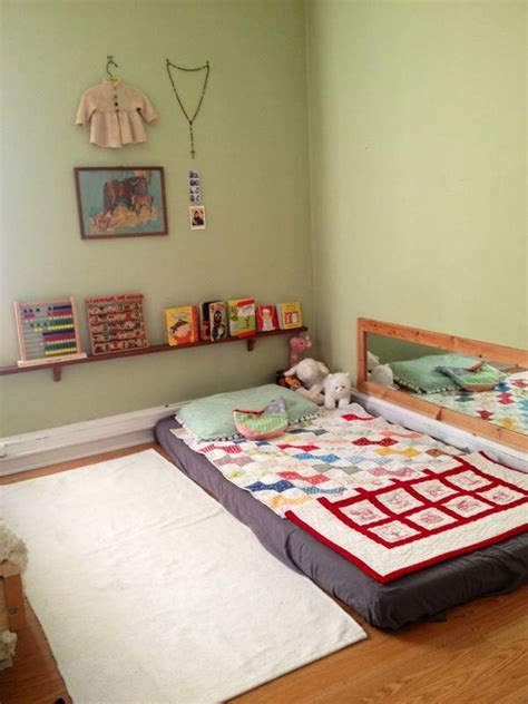 floor bed mattress nice toddler floor beds homesfeed