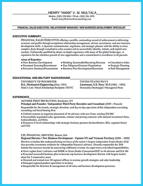 Business Development Sales Manager Resume by Marvelous Things To Write Best Business Development