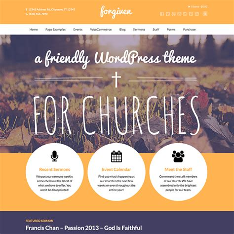 church themes forgiven church theme wpexplorer