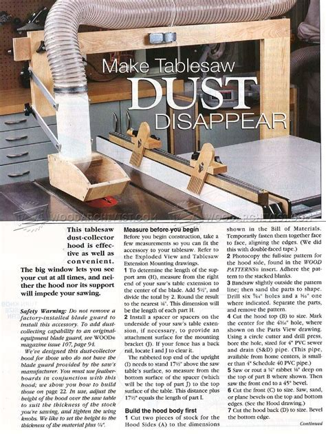 diy table saw dust collector 1744 diy table saw dust collector woodarchivist
