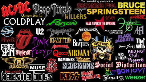best bands rock band wallpapers wallpaper cave