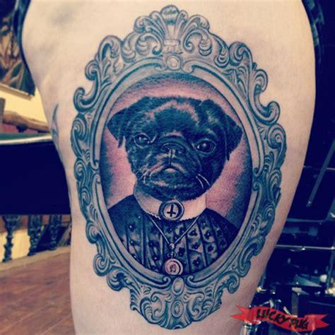 tattoo prices brighton black grey pug tattoos on legs pug tattoo picture