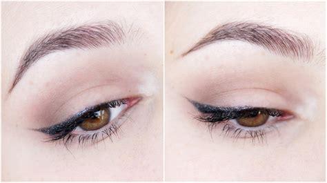 tutorial eyeliner wings easiest winged eyeliner tutorial tutorial shameless