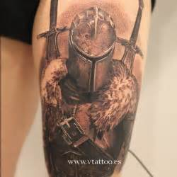knight tattoo by miguel bohigues tattoo designs