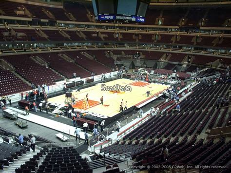 Section 8 In Chicago Suburbs by United Center Section 204 Chicago Bulls Rateyourseats