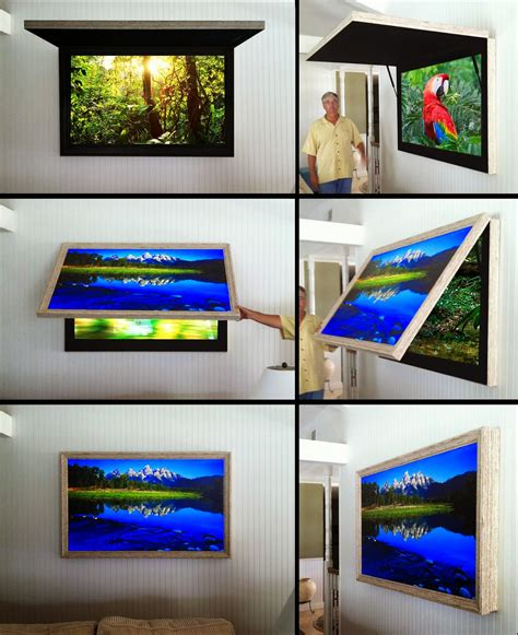 mirror cabinet tv cover hidden tv cabinet with tvcoverups frame tv with art cover