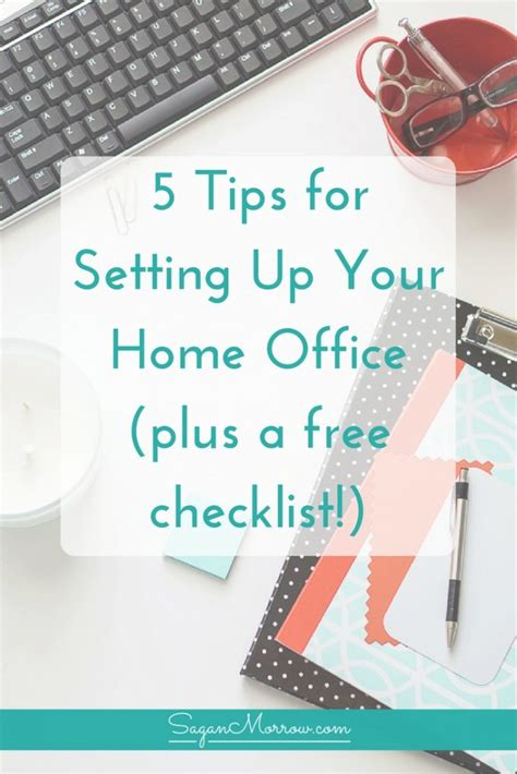 5 tips to set up the ultimate home office my home repair the ultimate home office checklist tips for setting up