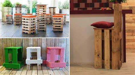 sgabelli moderni sgabelli economici e moderni con bancali in legno