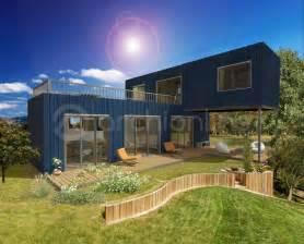 maison industri plan de moderne par archionline