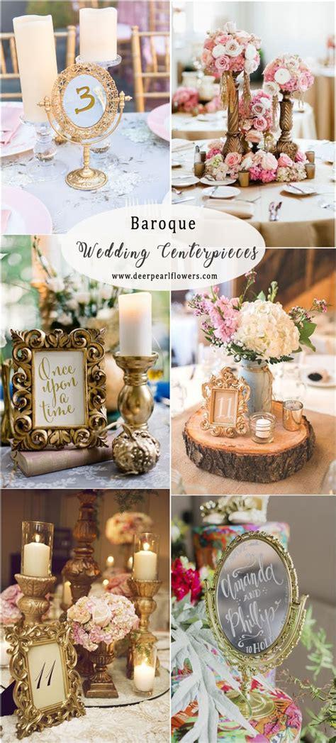 25 vintage baroque wedding decor ideas deer pearl flowers