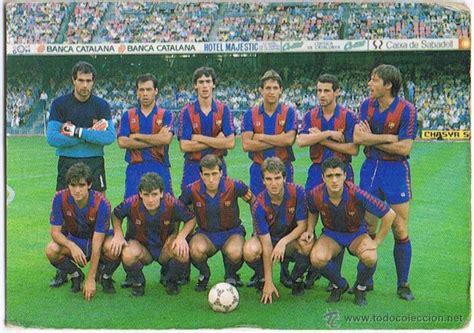 calendario deportivo de tv deportesonline calendario foto jugadores 1987 fc barcelona comprar