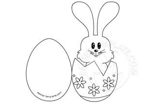 template for easter bunny craft a easter bunny card easter template