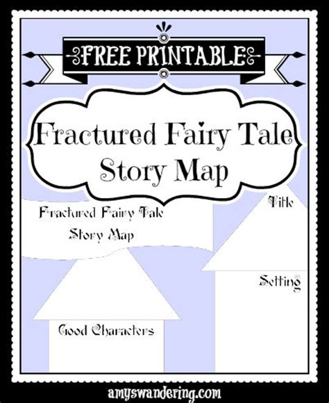 fractured tale worksheet fractured tales w free printable story map are we there yet poppins book nook 6