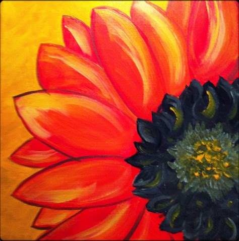 painting acrylic flowers a z the gallery for gt easy paintings for beginners on canvas