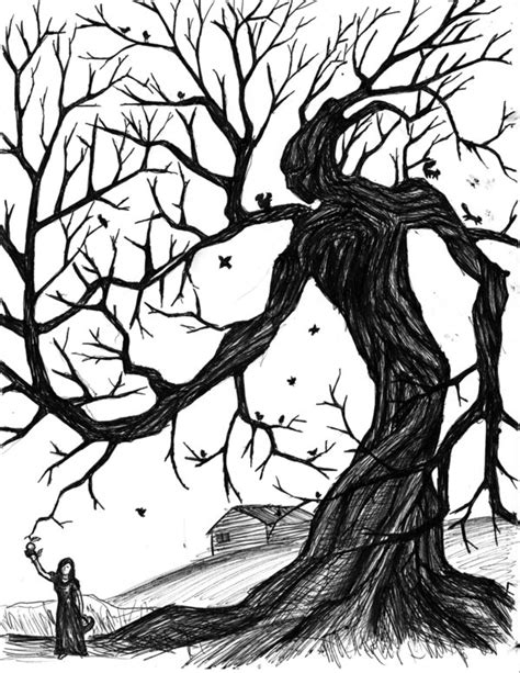 wicked tree tattoo designs tree by vadimkish on deviantart