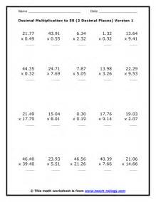 decimals division worksheets kelpies