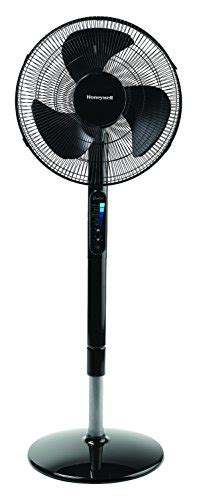 whole room stand fan honeywell advanced quietset with noise reduction technology 16 whole room pedestal fan home