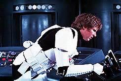 star wars han solo a new hope luke skywalker *gifs *sw
