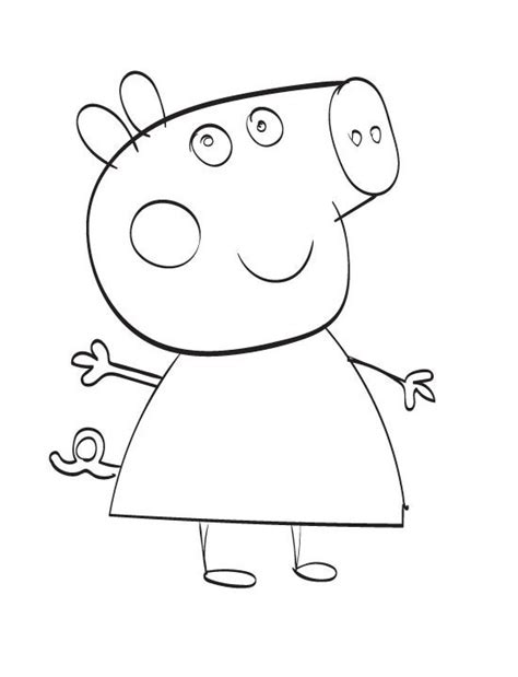free peppa pig coloring pages to print more images of peppa pig colouring in online coloring